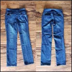 Jag Jeans, PullOn High Rise Straight Leg sz 2